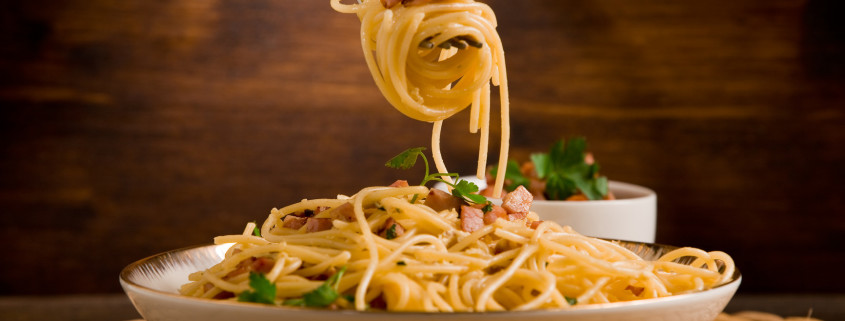 Classic Pasta as you would expect it with the best ingredients